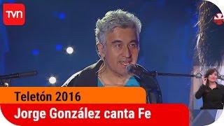 Jorge González y su retorno en cierre de la Teletón