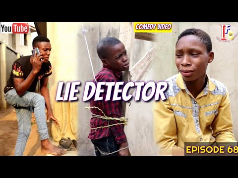 LIE DETECTOR (Izah Funny Comedy) (Episode 68)
