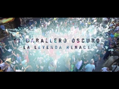 El Caballero Oscuro La Leyenda Renace - Premiere en Madrid