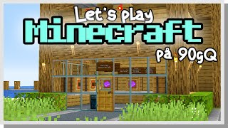LP Minecraft på 90gQ #168 - QURUMAA ÖPPNAR SHOP I NIRETHIA!
