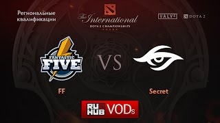 Secret vs Fantastic Five, game 1