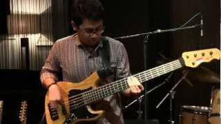 Balawan Bifan Trio - Mie Goreng As Long As I Can Live @ Mostly Jazz 07/04/12 [HD] Video