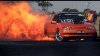 World's Biggest Burnout Fire! - YouTube