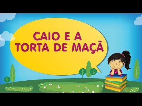 CAIO E A TORTA DE MAÇÃ | Histórias com a Tia Érika
