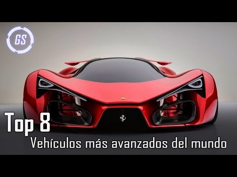Top 8 Vehículos más avanzados del mundo || Autos del Futuro