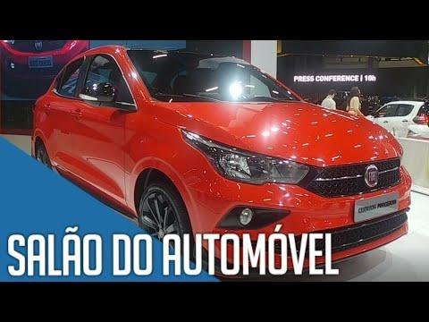 Salão do Automóvel 2018 SP - Novidades da FIAT