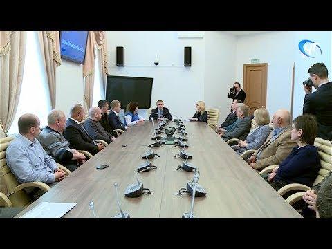 Новгородскую область посетил президент общероссийской общественной организации «Опора России» Александр Калинин