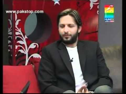YouTube   P3   Morning With Shahid Afridi   hosted by Sana Tariq of Hum Tv l May 11  2010