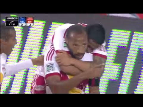 GOAL: Thierry Henry AMAZING Bicycle Kick | New York Red Bulls vs Montreal Impact_Labdargs MLS videk. Legeslegjobbak