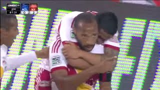 GOAL: Thierry Henry AMAZING Bicycle Kick  New York Red Bulls vs Montreal Impact - YouTube