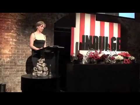 Dillon Harper - Part 2 INDULGE Book Launch - Cindy Luken officially launches Rowie Dillon's Creation at Sydney Theatre Co. Wed 5th October 2011. INDULGE Gluten Free Food Get...