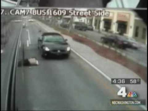 Dude Gets Clipped By Car REAL Hard.