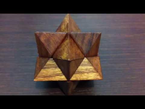 Puzzle di legno, soluzione giochi ad incastro ,