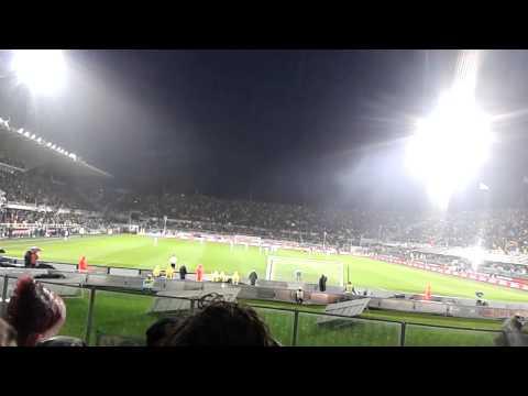 fiorentina-sampdoria 2-0 - il gran gol di salah