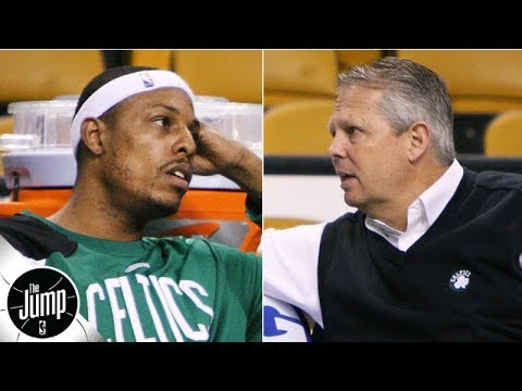 Video: Danny Ainge told Paul Pierce to his face that he could get traded from the Celtics | The Jump