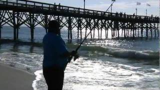 Myrtle beach pier fishing feature for world fishing for Fishing piers in myrtle beach