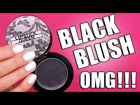 COLOR CHANGING BLACK BLUSH ... OMG !!!