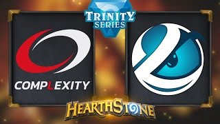 Hearthstone - CompLexity vs Luminosity - Trinity Series Finals Day 2