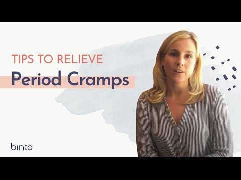BINTO With Tips To Relieve Your Period Cramps