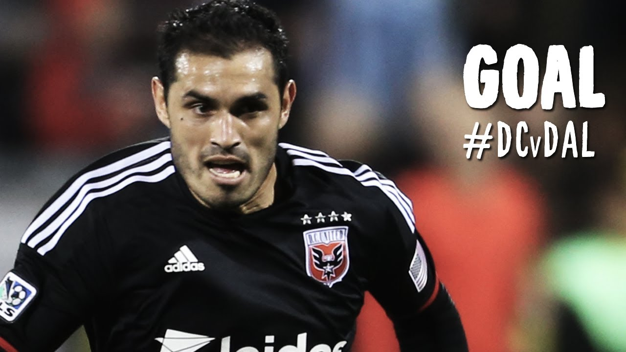 GOAL: Fabian Espindola heads in beautfiul cross from Johnson | D.C. United vs. FC Dallas