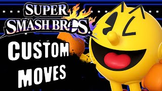 All Pacman's Custom Moves!