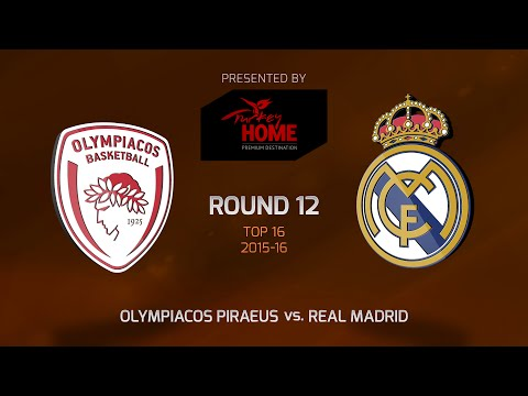 Highlights: Top 16, Round 12, Olympiacos Piraeus 99-84 Real Madrid
