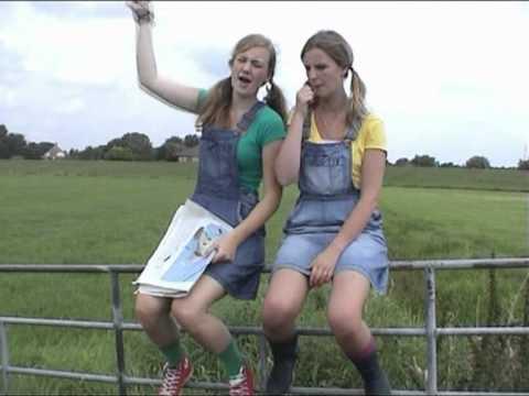 Modeste en Jacobine - boeren meiden
