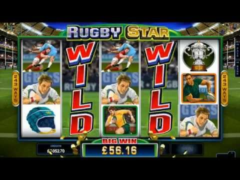 Rugby Star Slot Promo Video - Microgaming