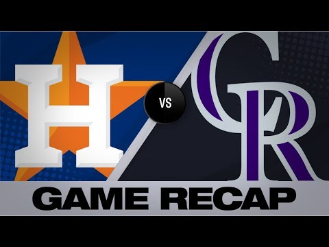 Video: Gurriel's 2-HR game lifts Astros to wild win | Astros-Rockies Game Highlights 7/2/19