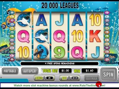 20,000 Leagues Slot Machine Bonus Round