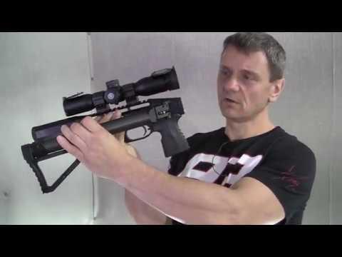Hawke/EDgun 5x32 (видео)