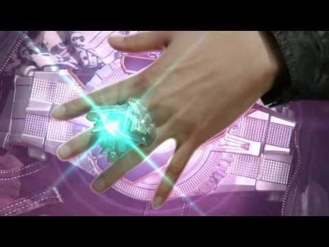 Kamen Rider Wizard Infinity Style Henshin Sound (видео)