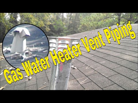 Gas Water Heater Vent Piping