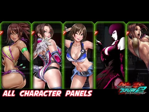 Tekken Tag Tournament 2 - All Character Panels