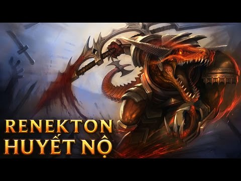 Renekton Huyết Nộ - Bloodfury Renekton