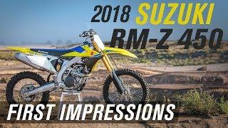 7. 2018 Suzuki RM-Z 450 First Impressions