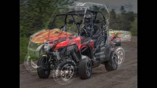 7. 2016 Arctic Cat HDX 500 XT Red