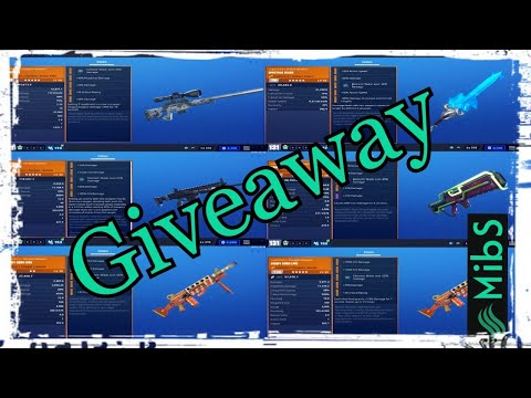 Fortnite Save The World Live | Giveaway Traps, Weapons,  Sunbeam Chill