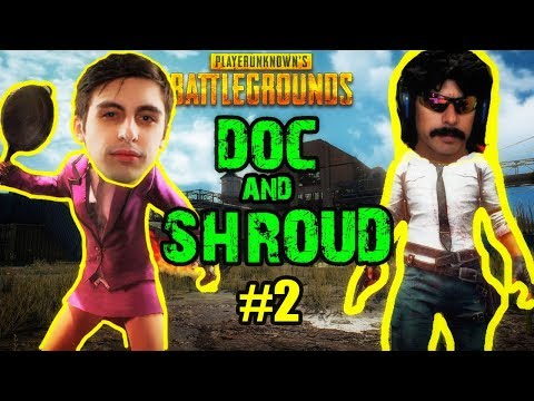 "DOC & SHROUD PUBG DUO - ""You're Psycho"" - Funny DrDisRespect"