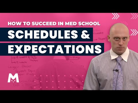 OnlineMedEd - Schedules and Expectations