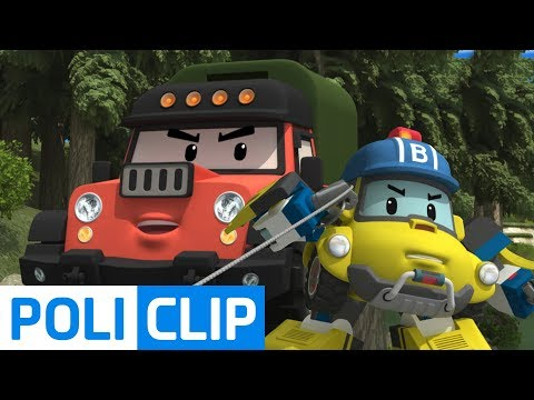 New enemy appeared! | Robocar Poli Rescue Clips