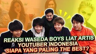 Video REAKSI COWOK JEPANG LIAT YOUTUBER & ARTIS CEWEK INDONESIA (Kimi hime, Agnes Monica, dll) MP3, 3GP, MP4, WEBM, AVI, FLV April 2019