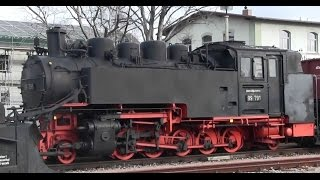 Radebeul Germany  city pictures gallery : REI Tour Riding A Steam Train From Radeburg to Radebeul Germany