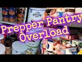 Prepper pantry overload/pantry tour and talk