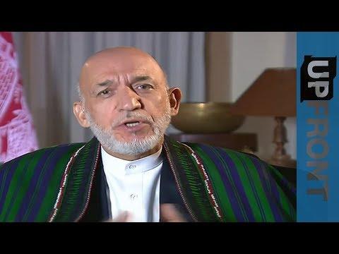 """hamid karzai:"""" al-qaeda è un'invenzione""""!"""