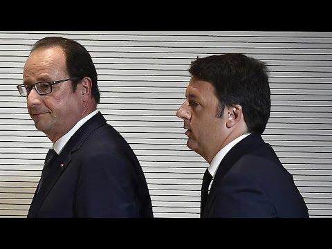 Ολάντ-Ρέντσι: Η Ελλάδα και το μεναστευτικό στην ατζέντα της συνάντησης