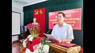 Ban chỉ đạo 35 thành phố Uông Bí tập huấn nghiệp vụ