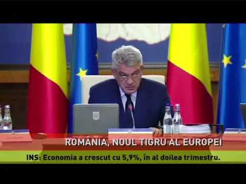 România are cea mai mare creştere economică din UE