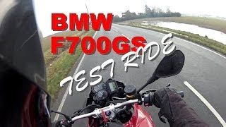 7. BMW F700GS Test Ride