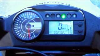 7. 2009 Hyosung GT650R + Yoshimura slip on.